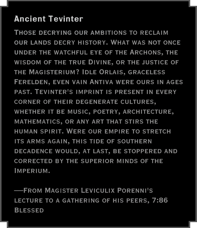 Note: Ancient Tevinter