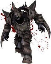 Ogro con armadura