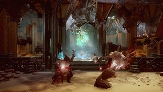 Main Chamber with frozen Demons and Venatori