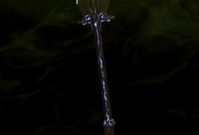Надежная рукоять для большого меча