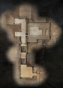 Therinfal Redoubt Main Level Map