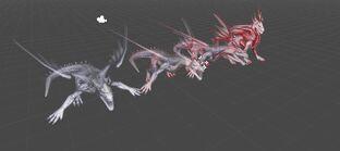 Малвернис дракон модель HoDA