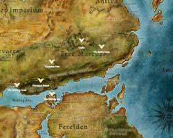 Dragon Age Legends Comparison Map
