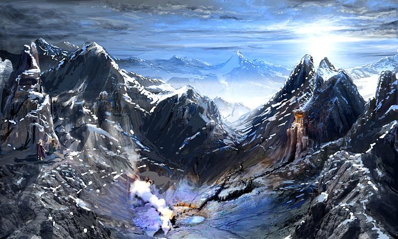 Морозные горы