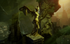 Here Lies the Abyss - Statue of Mythal