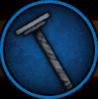 Отменная шипастая рукоять для большого меча