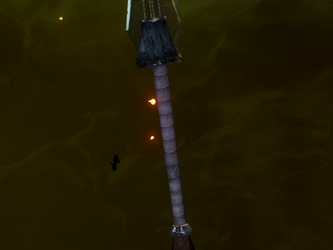 Громоздкая рукоять для большого меча