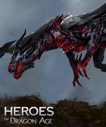 Red Lyrium Dragon HoDA