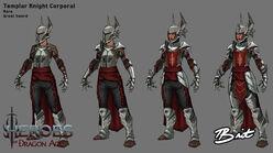 Рыцарь-капрал концепт HoDa