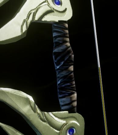 Masterwork Bound Longbow Grip Schematic