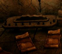 Dwarven Mug Table