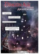 Dragon Age Awakening comic