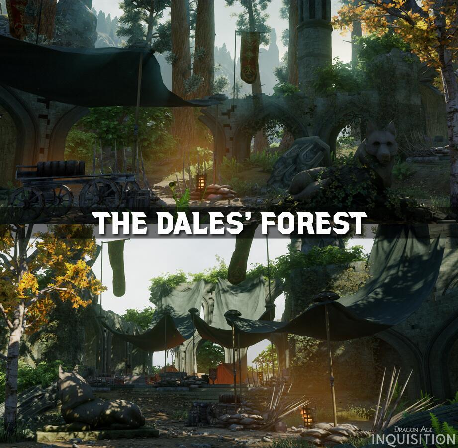 TemplarCode/Dragon Age: Inquisition – Dales' Forest – Erste Einblicke in die neue Spielumgebung