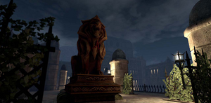 Chateau Haine at Night.png