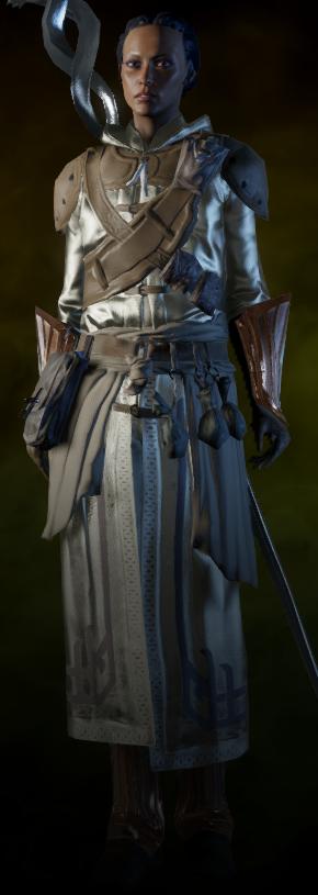 Orlesian Army Battlemage Armor