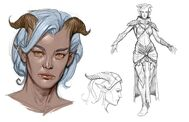 Dragon Age Those Who Speak - Arte conceptual (Rasaan)