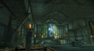 Soldier's Peak Tower interior