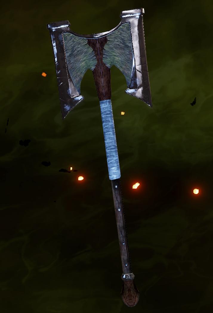 Masterwork Brute Hammer Schematic
