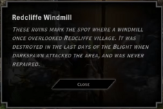 Redcliffe Windmill Landmark Text