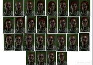 DAI Collage weiblich Mensch Haare