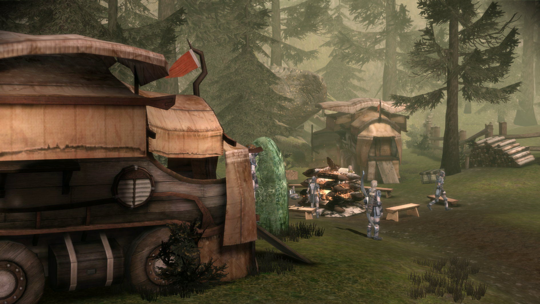 Dalish Camp (Dalish Elf Origin)