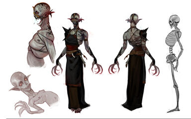 Emissary concept art (Dragon Age II)