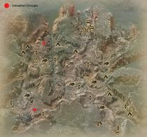 One Less Venatori Hinterlands Map