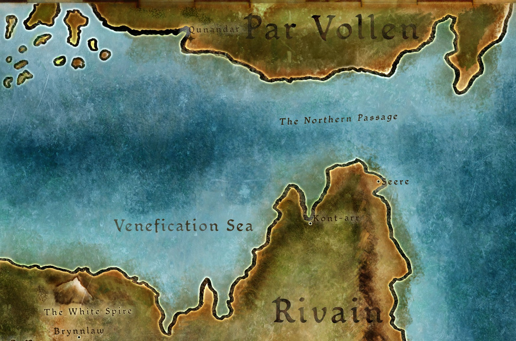 Codex entry: Par Vollen: The Occupied North