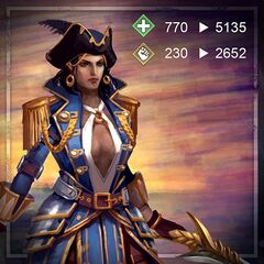 Promotional Captain Isabela