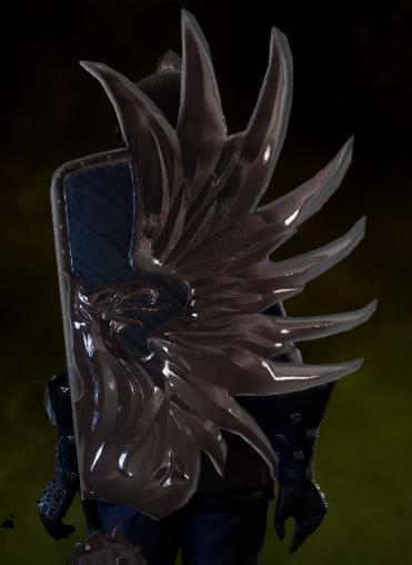 Masterwork Grey Warden Shield Schematic