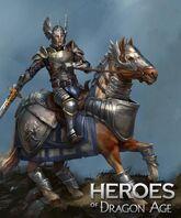 Grey Warden Cavalry Knight