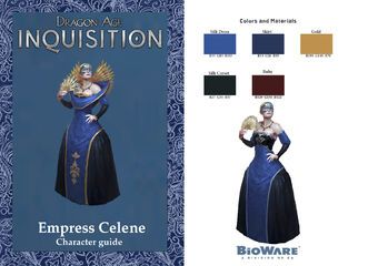 Empress Celene Character cosplay guide 1