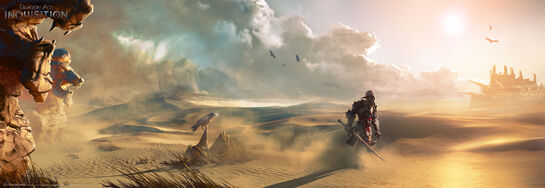 Inquisition desert concept