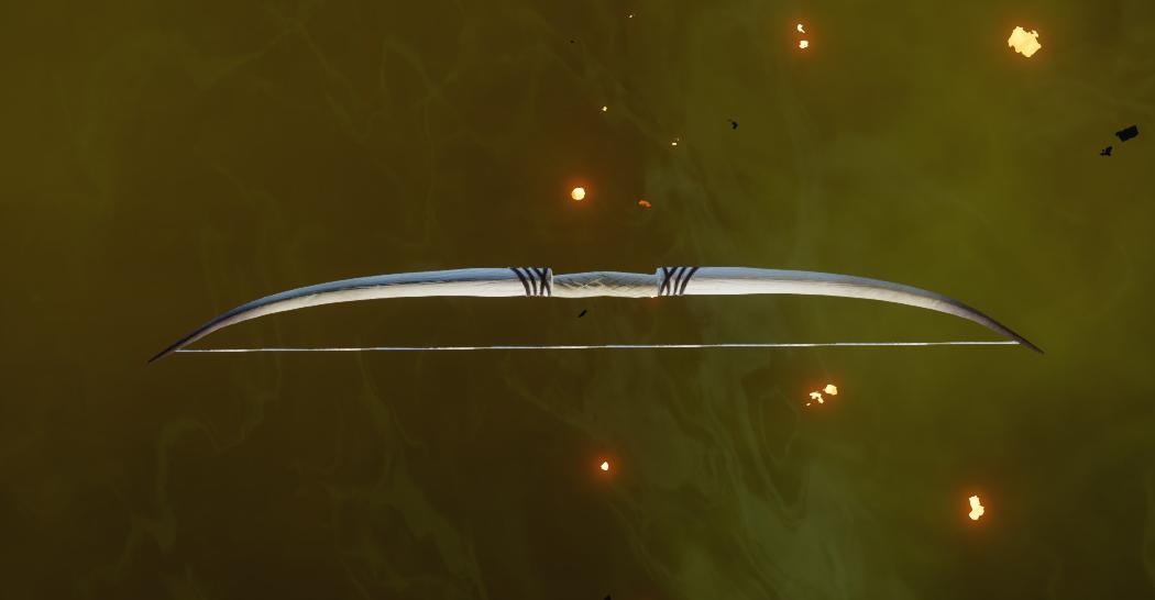 Надежный охотничий длинный лук