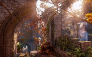 Elven Ruins - Overgrown Path