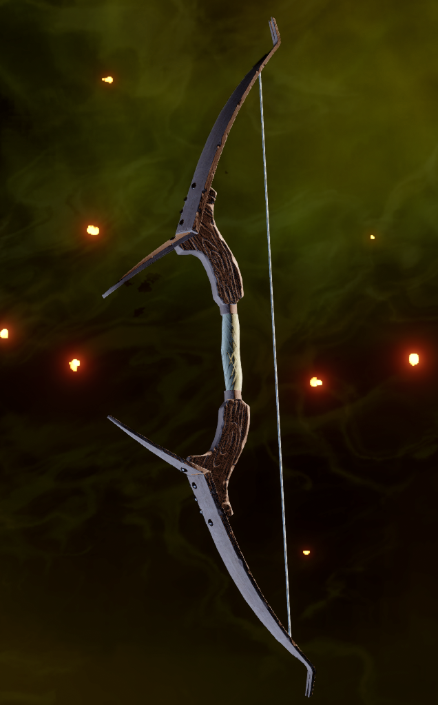 Bladed Longbow Schematic