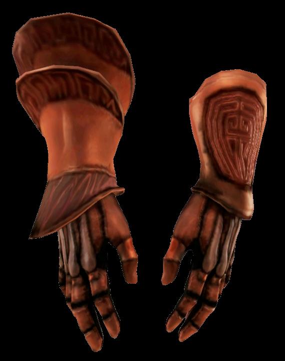 Бронированные парадные перчатки