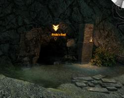 Pride's End cave