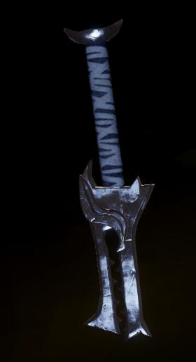 Dragon Staff Blade Schematic