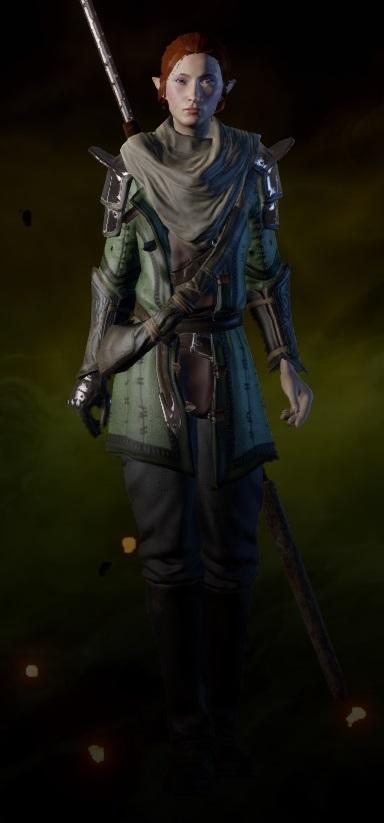 Mercenary Coat (Mage)