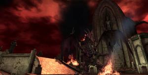 Final Battle Archdemon Roof