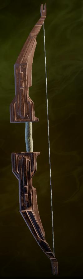 Masterwork Winged Longbow Schematic