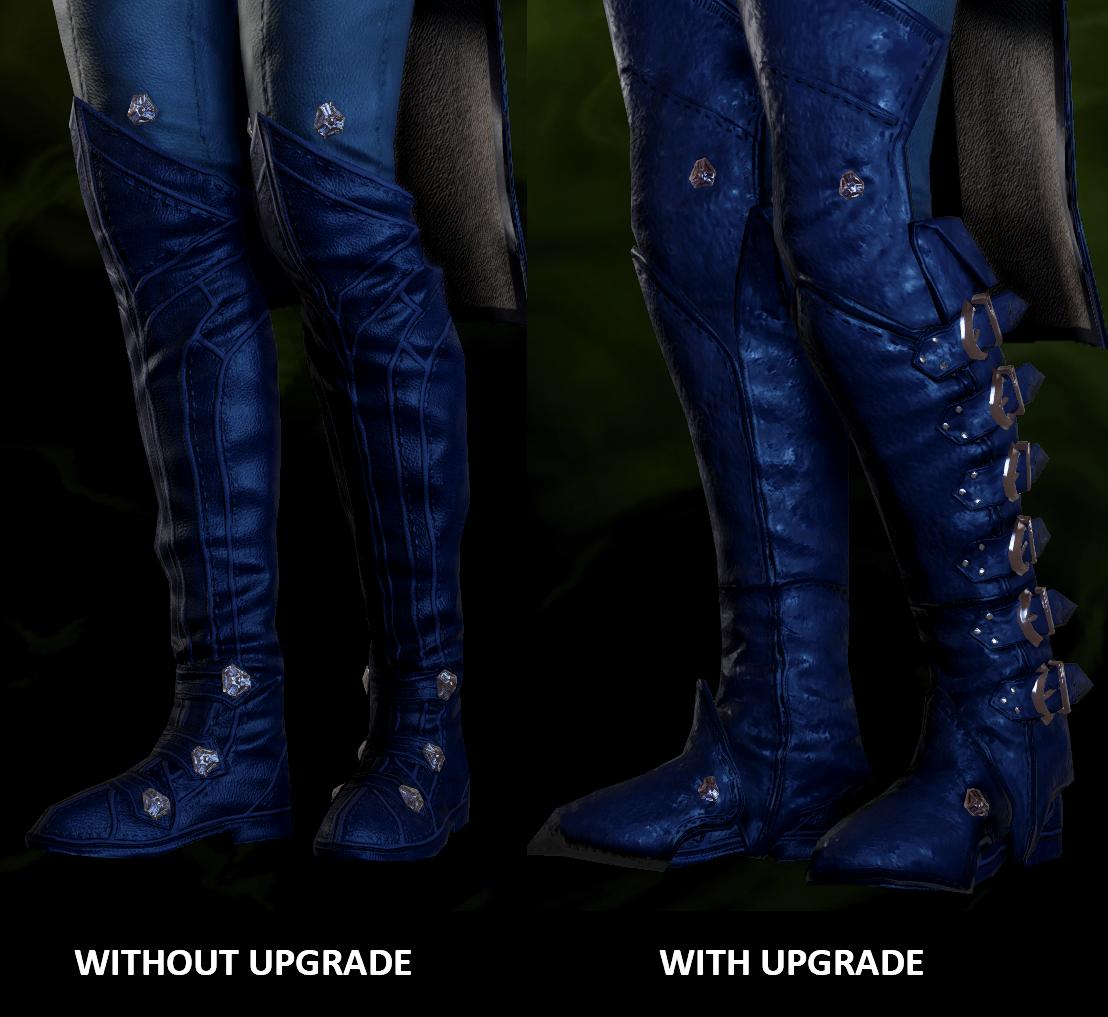 Prowler Coat Legs