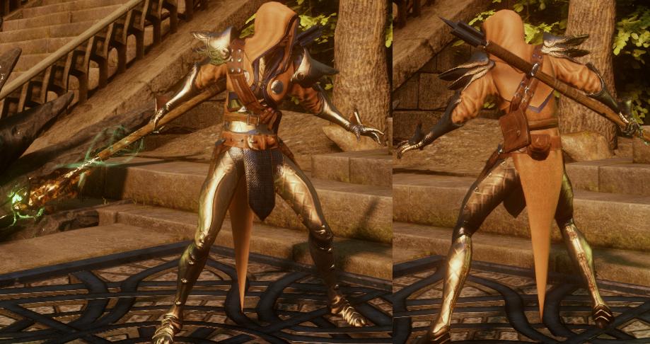 Enlightened Warrior's Armor (Heart)