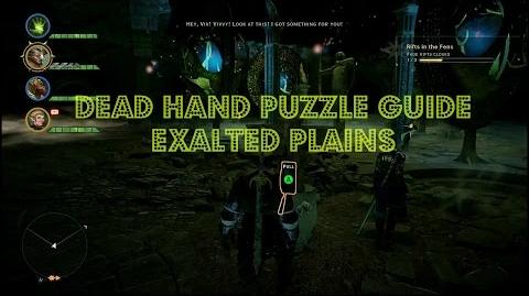 "Dragon Age Inquisition Exalted Plains ""Dead Hand Puzzle Guide"" MUST COMPLETE"