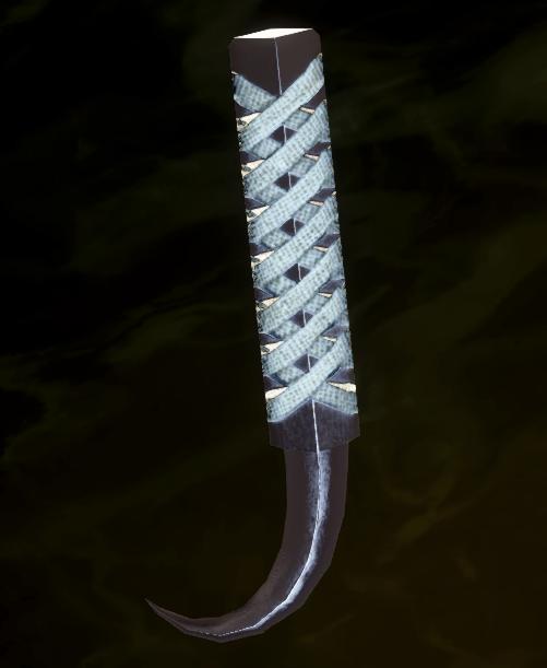 Fang Longsword Grip Schematic