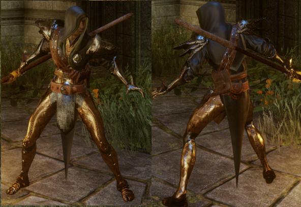 Enlightened Warrior's Armor