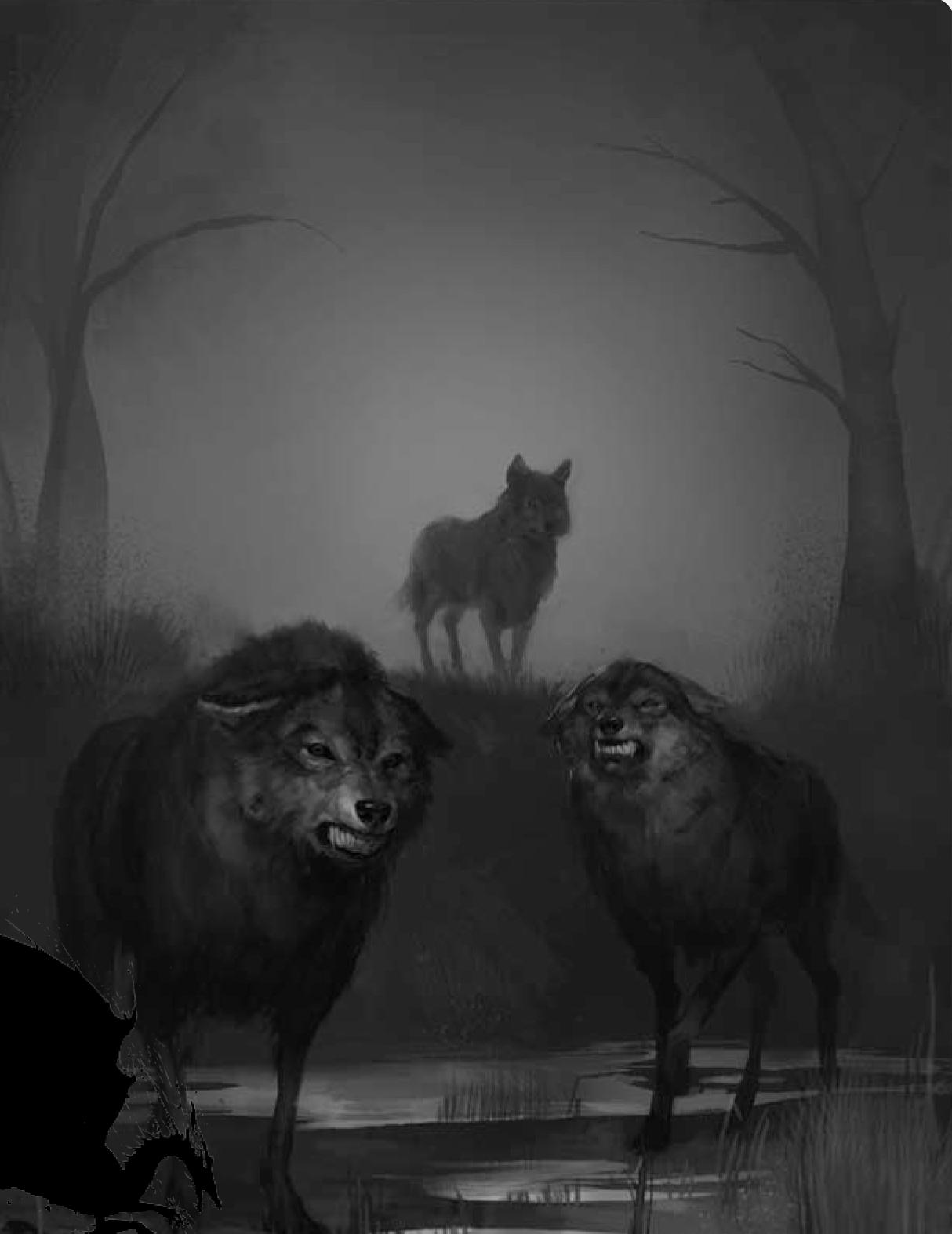 Болотный волк