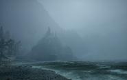 Die Sturmküste - Zugang zum Schmugglerhafen