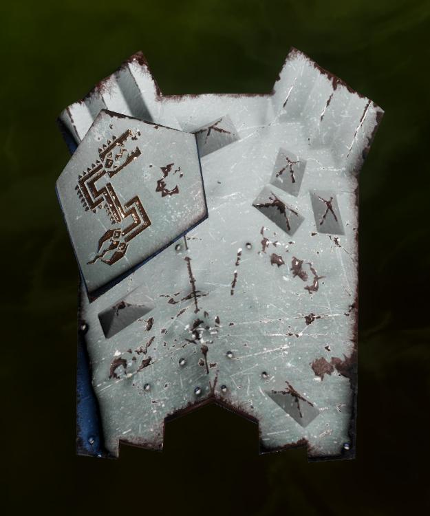 Dwarven Shield Schematic